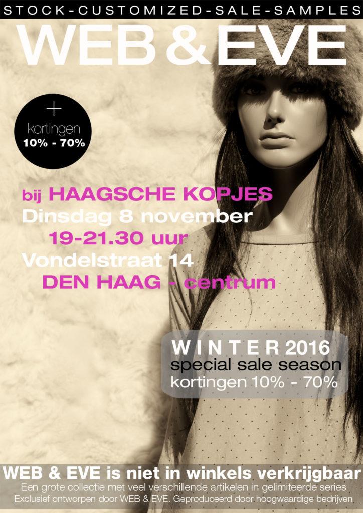 WEB & EVE bij de Haagsche Kopjes, 8-11-2016