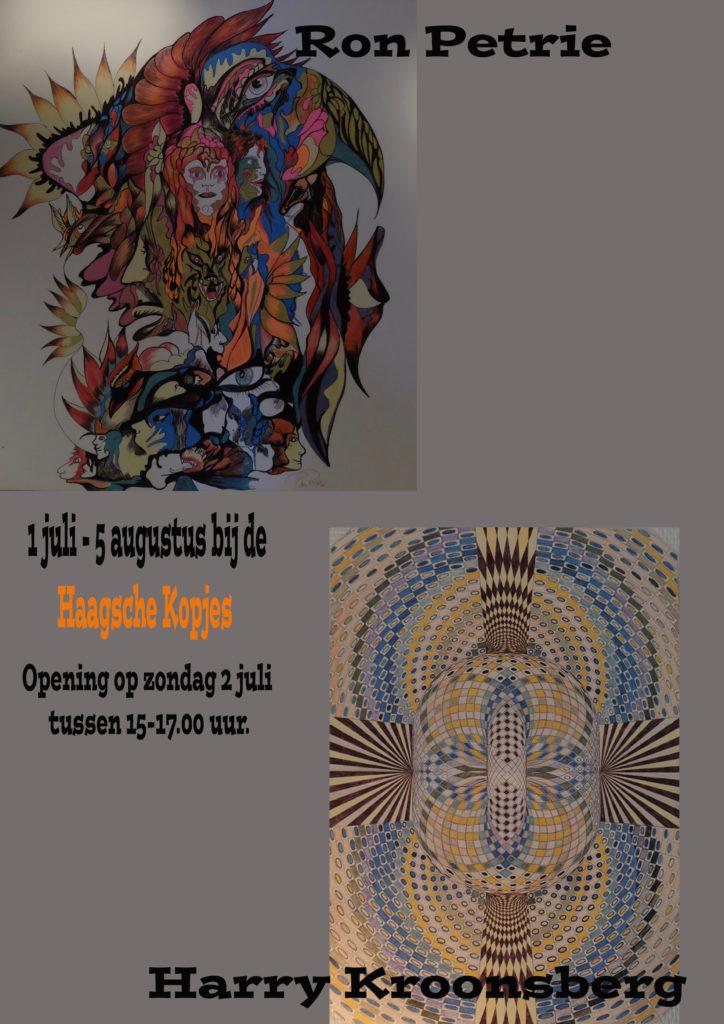Nieuwe expositie van Ron Petrie en Harry Kroonsberg