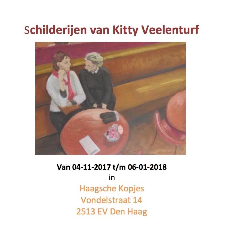 expositie van Kitty Veelenturf